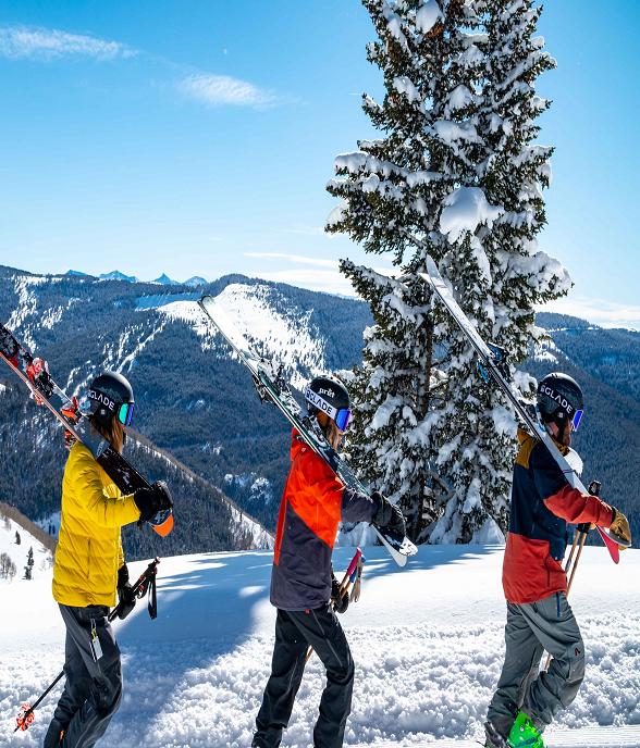 Ski hardware
