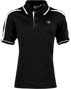 SJENG SPORTS - sjeng sports men polo deacon - Black/Black/White