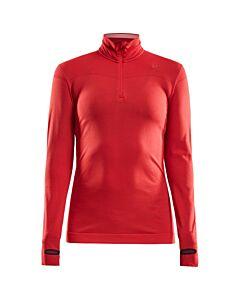 CRAFT - Fuseknit Comfort Zip W - rood