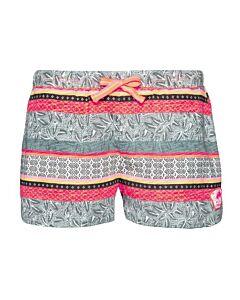 PROTEST - cancun jr shorts - Wit-Multicolour