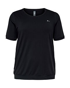 Only Play Clarise 2/4 training tee curvy