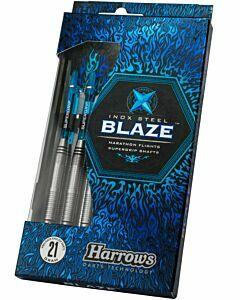 ENGELHART - Blaze Inox steeltip - Blauw-Zwart