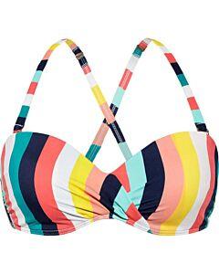 BEACH LIFE - Top- bikini foam +wired - Multicolour