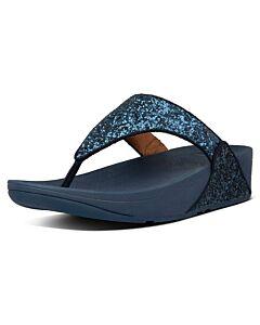 FITFLOP - Lulu Glitter - marineblauw