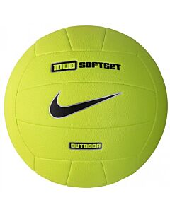 NIKE ACCESSOIRES - 1000 soft set outdoor volleyball - groen combi