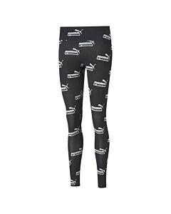 PUMA - amplified aop leggings - Zwart