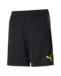 PUMA - individualcup shorts jr - Zwart