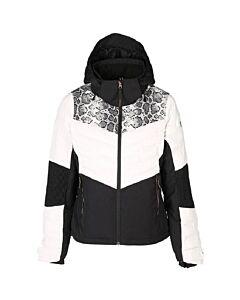 BRUNOTTI - coronet women snowjacket - Wit-Multicolour