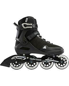 ROLLERBLADE - rollerblade sirio 84 black/white - Black/Black/White