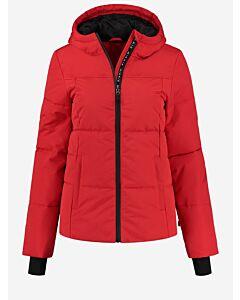 NIKKIE - NIKKIE Logo Ski Jacket - rood