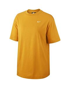 NIKE - w nsw essntl top ss lbr os - Bruin-Multicolour