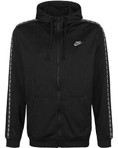NIKE - nike sportswear men's full-zip flee - Zwart
