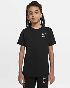 NIKE - nike sportswear big kids' (boys') t - Zwart