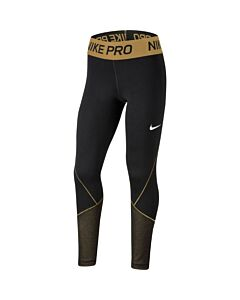 NIKE - nike pro warm big kids' (girls') tr - Zwart