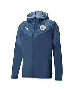 PUMA - mcfc warmup jacket - Blauw