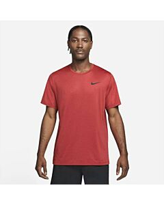 NIKE - nike pro dri-fit men's short-sleeve - Rood