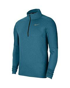 NIKE - nike dri-fit men's 1/2-zip running - Blauw