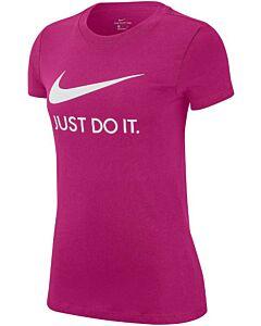 NIKE - nike sportswear women's jdi t-shirt - Rood
