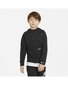 NIKE - nike sportswear swoosh fleece big k - Zwart