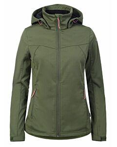 ICEPEAK - icepeak biggs softshell jacket - Olijfgroen