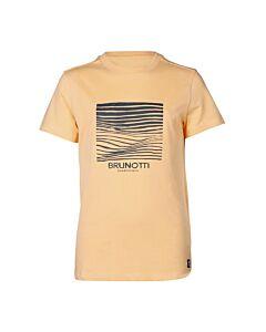 BRUNOTTI - tim-print-jr boys t-shirt - Oranje