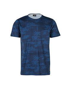 BRUNOTTI - ben-ao mens t-shirt - Blauw-Multicolour