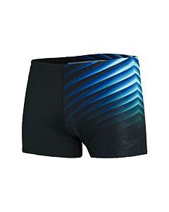 SPEEDO - end placem aqsh bla/blu - Zwart-Multicolour