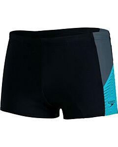 SPEEDO - dive aqsh bla/blu - Zwart-Multicolour