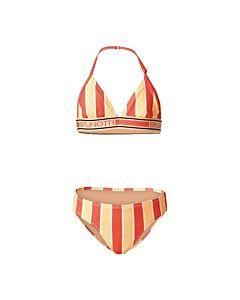BRUNOTTI - noelle-jr girls bikini - Oranje-Rood