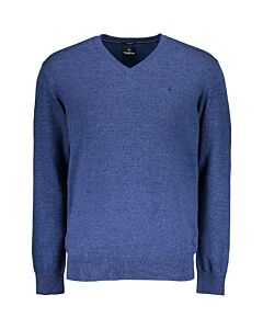 HAZE&FINN - Knit V neck - marineblauw