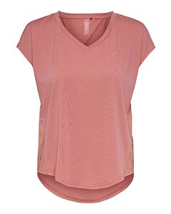 ONLY PLAY - onpjensa curved ss train tee - Roze-Multicolour