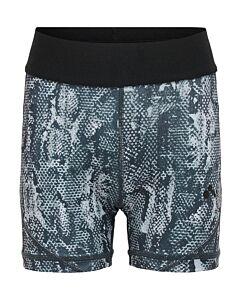 ONLY PLAY - onpfox aop training shorts - grijs combi