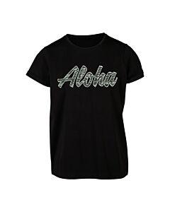 BRUNOTTI - Oulinas-jr girls t-shirt - zwart combi