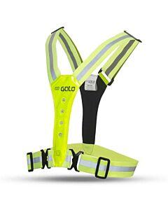 GATO - safer sport led vest usb - Geel