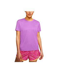 NIKE - nike miler women's short-sleeve run - Roze