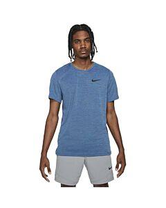 NIKE - nike pro men's short-sleeve top - Blauw