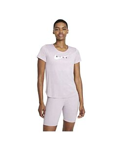 NIKE - nike swoosh run women's short-sleev - Roze