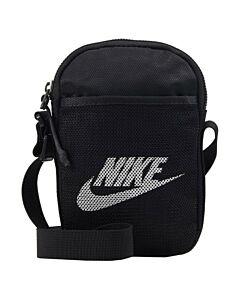 NIKE - nike heritage crossbody bag (small) - Zwart