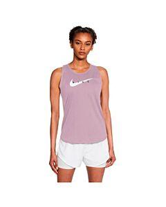 NIKE - nike swoosh run women's running tan - Roze
