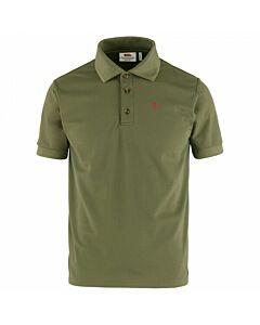 FJALLRAVEN - Crowley pique shirt m - olijfgroen
