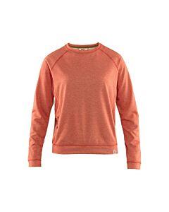 FJALLRAVEN - High coast lite sweater W - rood