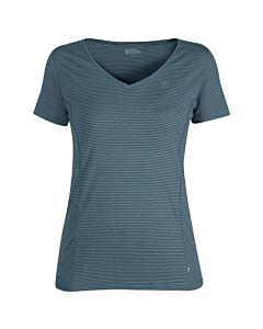 FJALLRAVEN - Abisko cool T-shirt W - donkergrijs/grafiet