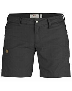 FJALLRAVEN - Abisko shade shorts W - donkergrijs/grafiet
