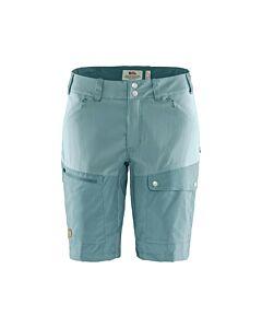 FJALLRAVEN - Abisko midsummer shorts w - lichtblauw