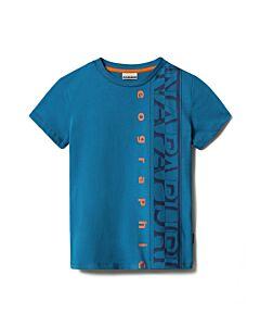 NAPAPIJRI - K Sadyr logo - blauw