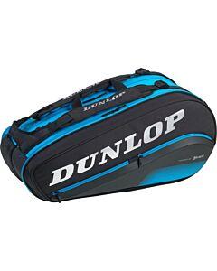 DUNLOP - fx performance 8 racketbag - Zwart-Blauw