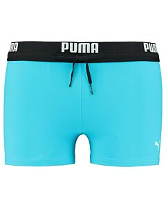 PUMA ACCESSOIRES - puma swim men logo swim trunk - blauw