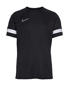 NIKE - nike dri-fit academy men's short-sl - Zwart-Multicolour