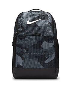 NIKE - nike brasilia camo training backpac - Zwart