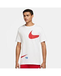 NIKE - nike sportswear men's t-shirt - Wit